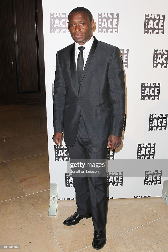 <a gi-track='captionPersonalityLinkClicked' href=/galleries/search?phrase=David+Harewood&family=editorial&specificpeople=2195239 ng-click='$event.stopPropagation()'>David Harewood</a> attends the 63rd Annual ACE Eddie Awards at The Beverly Hilton Hotel on February 16, 2013 in Beverly Hills, California.