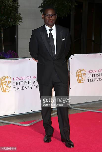 David Harewood attends the After Party dinner for the House of Fraser British Academy Television Awards at The Grosvenor House Hotel on May 10 2015...