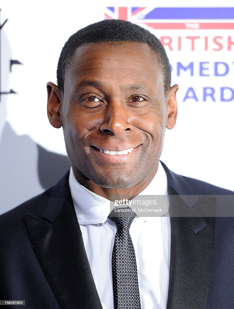 David Harewood attends the British Comedy Awards at Fountain Studios on December 12, 2012 in London, England.