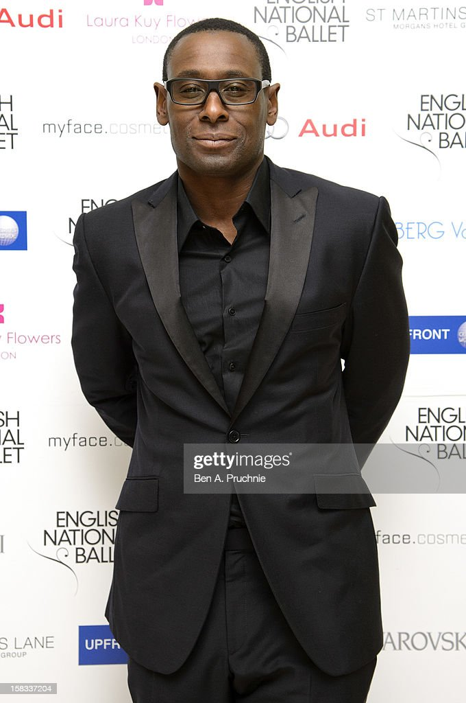 David Harewood attends the English National Ballets Christmas Party at St Martins Lane Hotel on December 13, 2012 in London, England.