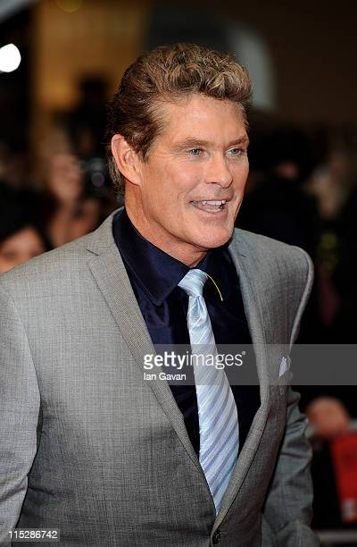 David Hasselhoff attend the UK Film Premiere of Larry Crowne at Vue Westfield on June 6 2011 in London England