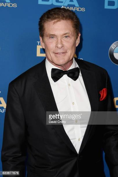 David Hasselhoff attends the 69th Annual Directors Guild Of America Awards Arrivals at The Beverly Hilton Hotel on February 4 2017 in Beverly Hills...