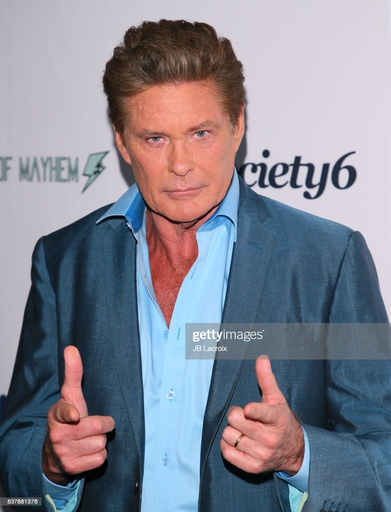 David Hasselhoff attends the 'Extraordinary: Stan Lee' on August 22, 2017 in Los Angeles, California.