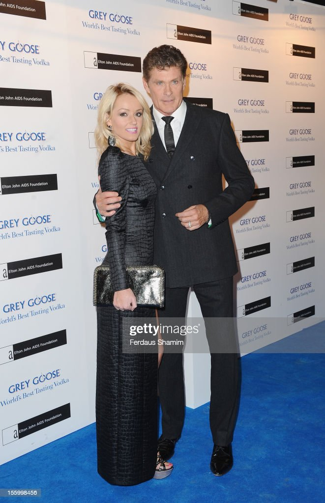 David Hasselhoff attends the Grey Goose Winter Ball at Battersea Power station on November 10, 2012 in London, England.