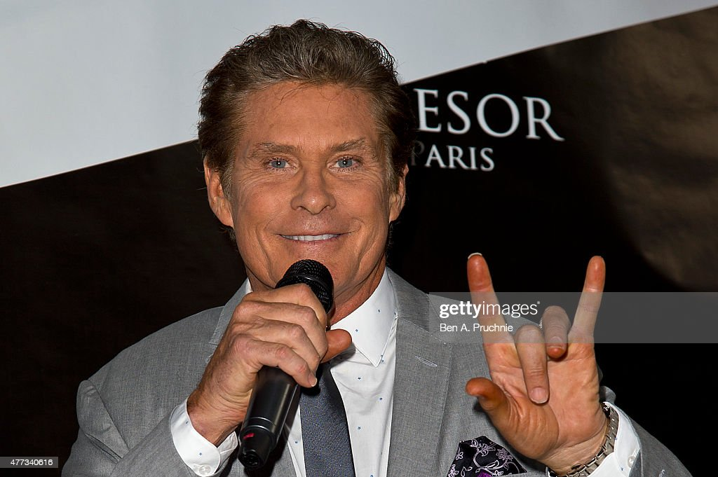 <a gi-track='captionPersonalityLinkClicked' href=/galleries/search?phrase=David+Hasselhoff&family=editorial&specificpeople=209380 ng-click='$event.stopPropagation()'>David Hasselhoff</a> attends the Tresor Paris Store launch on June 16, 2015 in London, England.