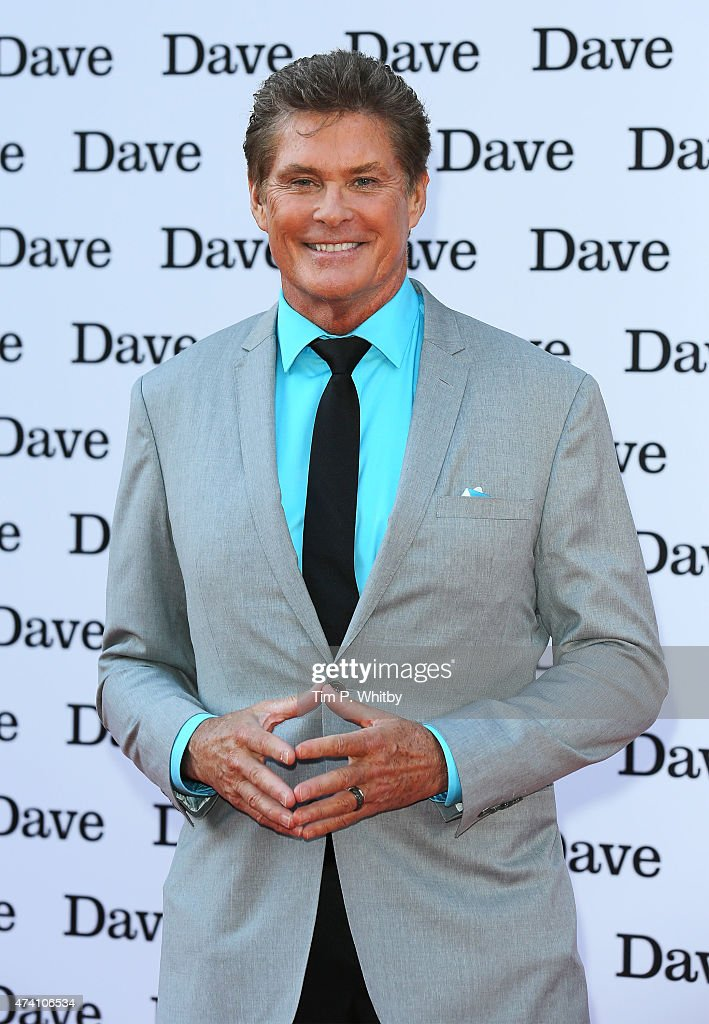 <a gi-track='captionPersonalityLinkClicked' href=/galleries/search?phrase=David+Hasselhoff&family=editorial&specificpeople=209380 ng-click='$event.stopPropagation()'>David Hasselhoff</a> attends the UK screening of 'Hoff The Record' at Empire Cinema in Leicester Square on May 20, 2015 in London, England.