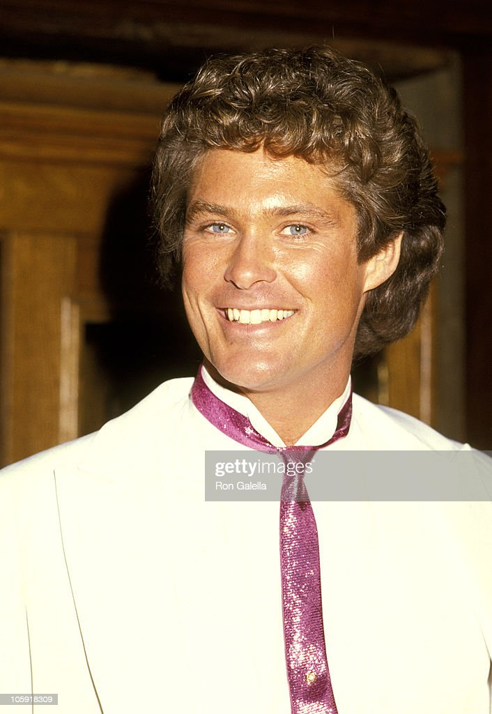 David Hasselhoff during David Hasselhoff & Catherine Hickland Wedding ...