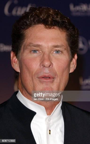 David Hasselhoff during the Laureus World Sports Awards at the Forum Grimaldi in Monte Carlo