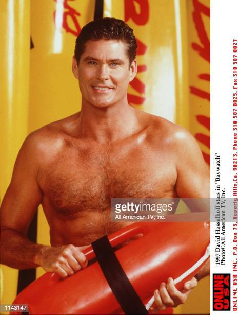 David Hasselhoff stars in 'Baywatch'