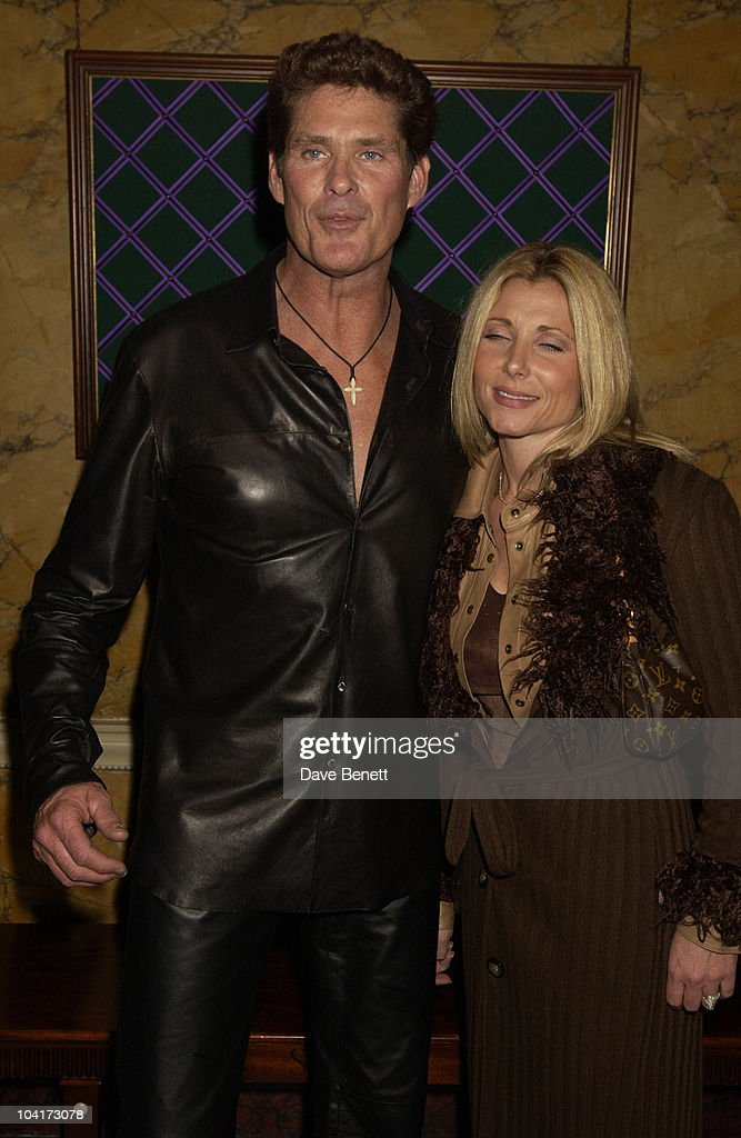 David Hasselhoff & Wife, Almost Every Pop Group Turned Up At To Home House To Celebrate The Home Magazine, BMG Brits Party At Home House, London