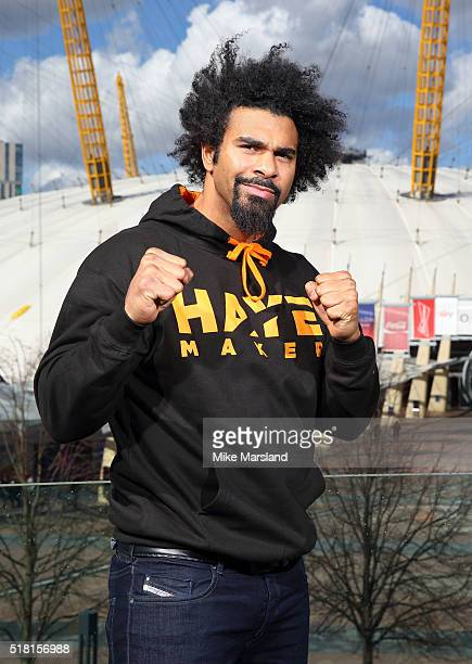 David Haye attends photocall for the announcement that the former twoweight world champion David Haye will face the undefeated Arnold 'The Cobra'...