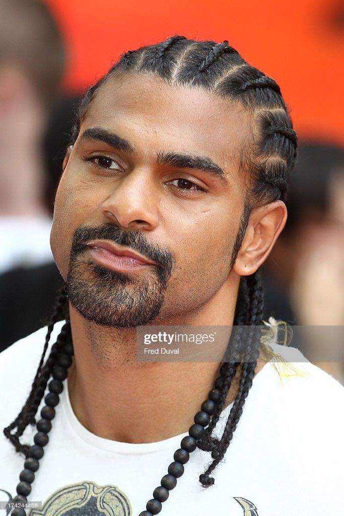 <a gi-track='captionPersonalityLinkClicked' href=/galleries/search?phrase=David+Haye&family=editorial&specificpeople=220778 ng-click='$event.stopPropagation()'>David Haye</a> attends the Red 2 Premiere at Empire Leicester Square on July 22, 2013 in London, England.