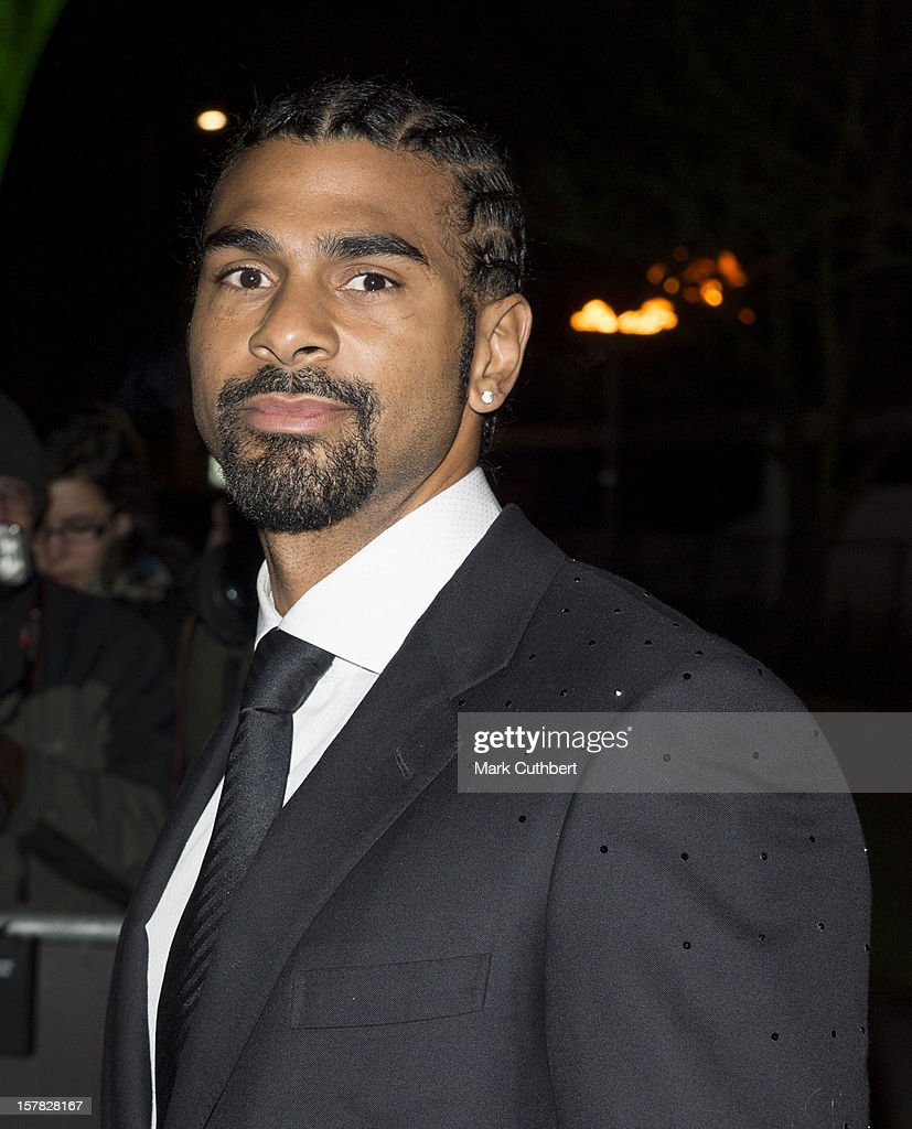David Haye attends the Sun Military Awards at Imperial War Museum on December 6, 2012 in London, England.