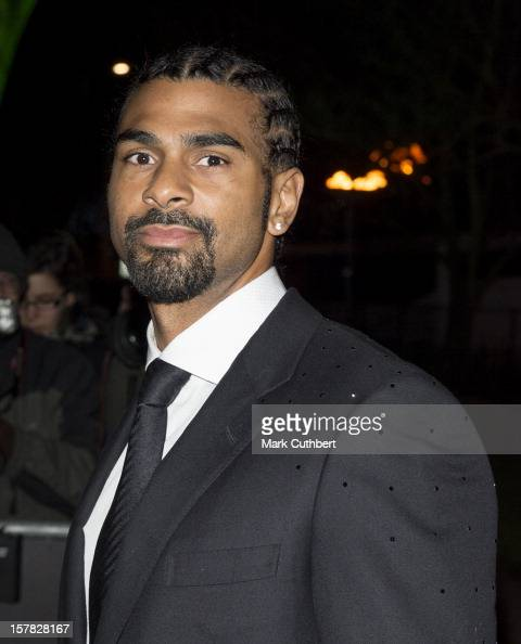 David Haye attends the Sun Military Awards at Imperial War Museum on December 6 2012 in London England
