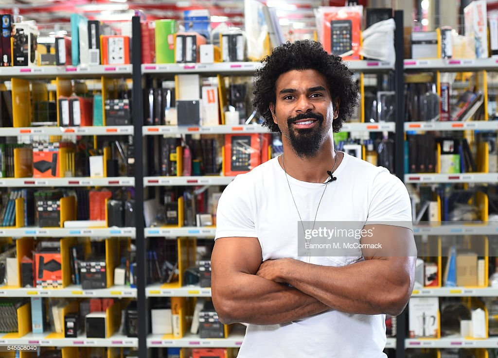David Haye Delivers Gifts To Boxing Gym Via Prime Now To Celebrate Amazon Prime Day