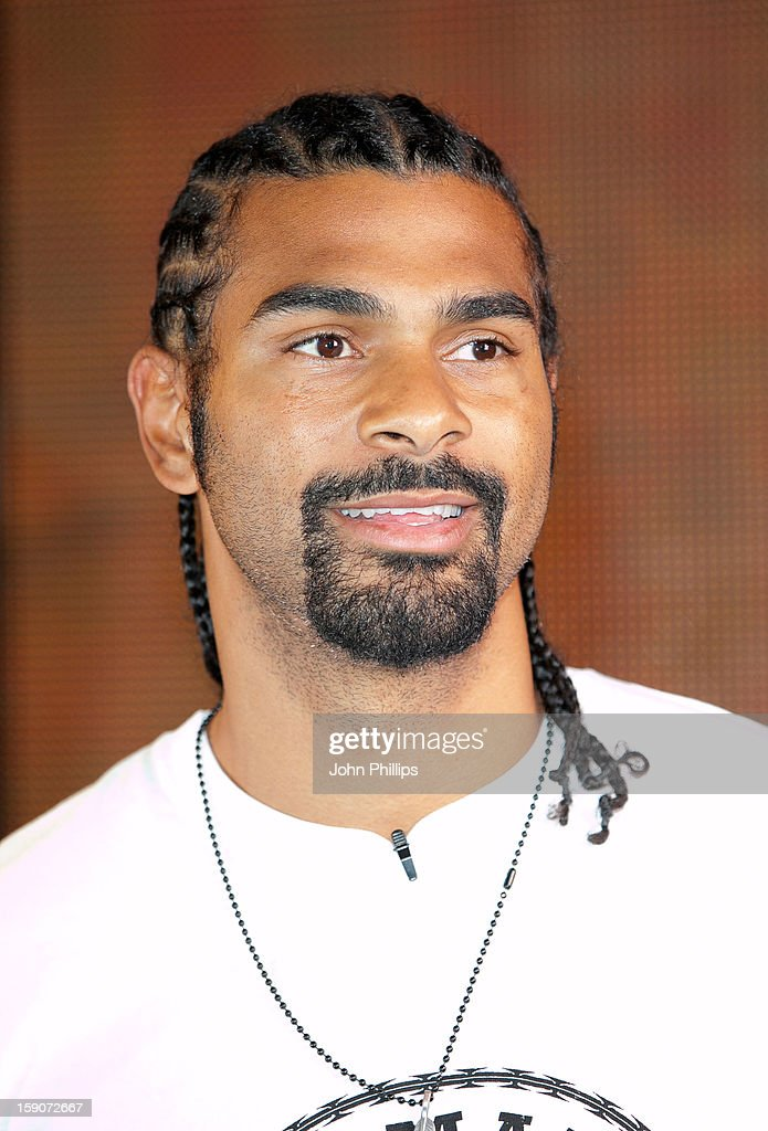 <a gi-track='captionPersonalityLinkClicked' href=/galleries/search?phrase=David+Haye&family=editorial&specificpeople=220778 ng-click='$event.stopPropagation()'>David Haye</a> meets fans and signs copies of his new DVD at HMV, Oxford Street on January 7, 2013 in London, England.