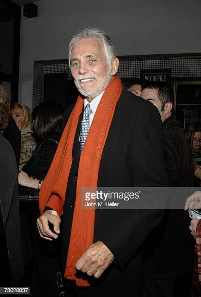 David Hedison attends the premiere performance of Joan Collins and Linda Evans in 'Legends' on January 16 2007 at the Wlishire Theatre in Beverly...