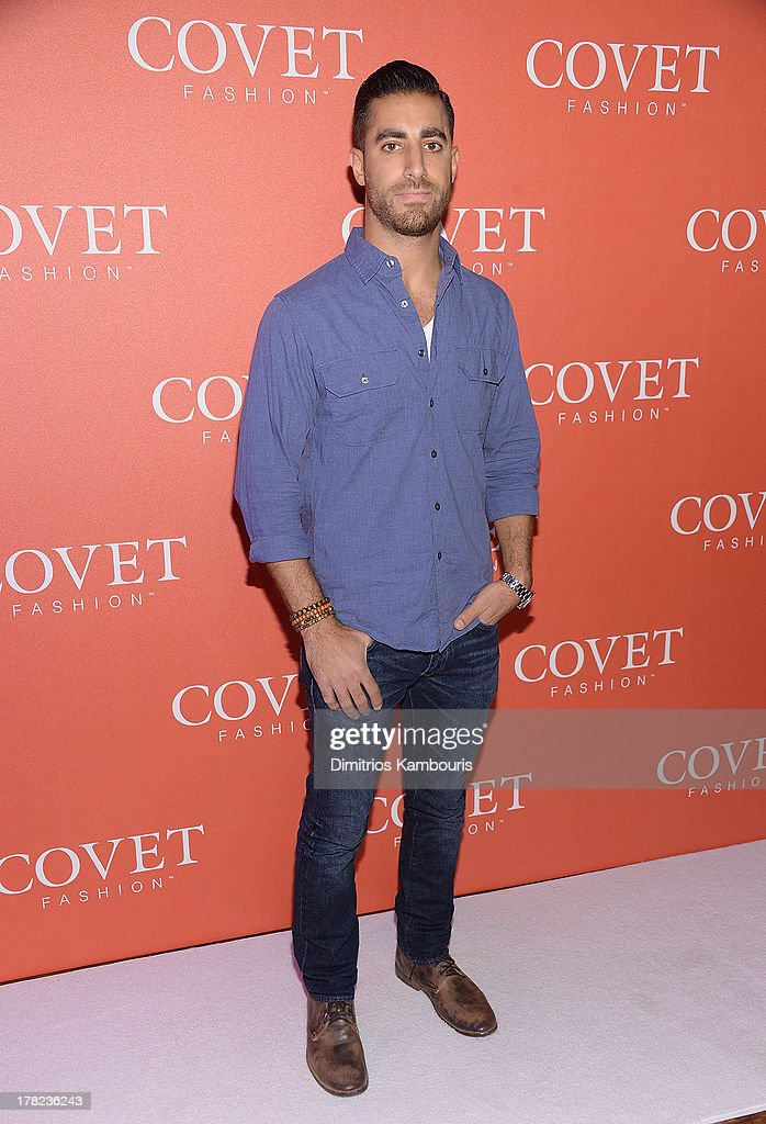 David Helwani attends the COVET Fashion Launch Event at 82 Mercer on August 27, 2013 in New York City.