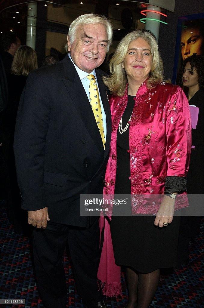 David Hemmings & Wife, 'Gangs Of New York'Premiere, Empire Leicester Square, London, Davidhemmingsretro