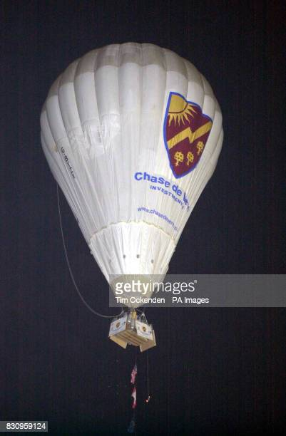 David HemplemanAdams sets off from Allegheny County Airport Pennsylvania on his recordbreaking attempt to cross the Atlantic in a balloon with an...