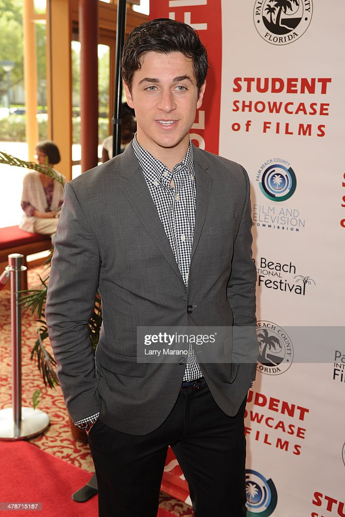 David Henrie attends the 2014 Student Showcase of Films at Lynn University on March 14, 2014 in Boca Raton, Florida.