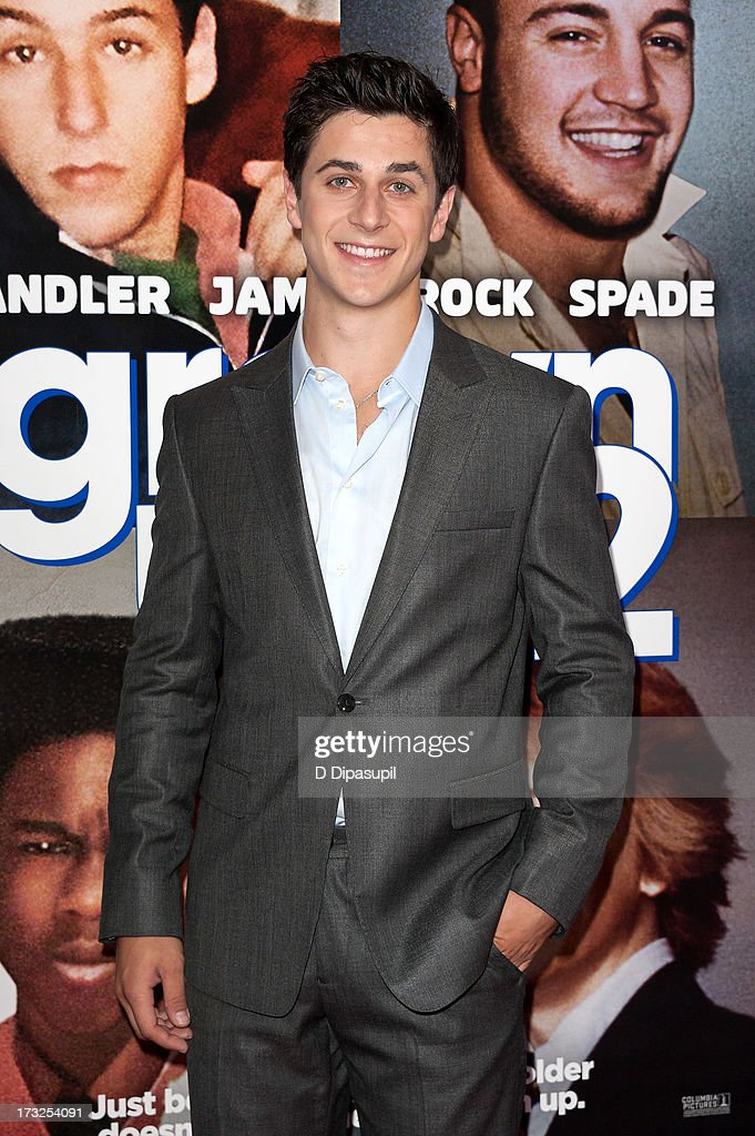 <a gi-track='captionPersonalityLinkClicked' href=/galleries/search?phrase=David+Henrie&family=editorial&specificpeople=2960032 ng-click='$event.stopPropagation()'>David Henrie</a> attends the 'Grown Ups 2' New York Premiere at AMC Lincoln Square Theater on July 10, 2013 in New York City.