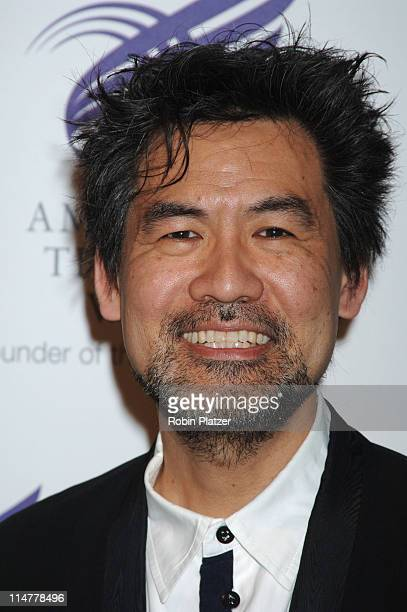 David Henry Hwang during American Theatre Wing Spring Gala Honoring Matthew Broderick and Nathan Lane April 10 2006 at Ciprianis 42nd Street in New...