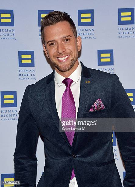 David Hernzndez attends the 2015 Human Rights Campaign Greater New York Gala Dinner at The Waldorf=Astoria on January 31 2015 in New York City