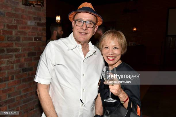 David Hershkovits and Kachin Eowne attend Walt Cessna ReMemory and Tribute at Bowery Hotel on June 12 2017 in New York City
