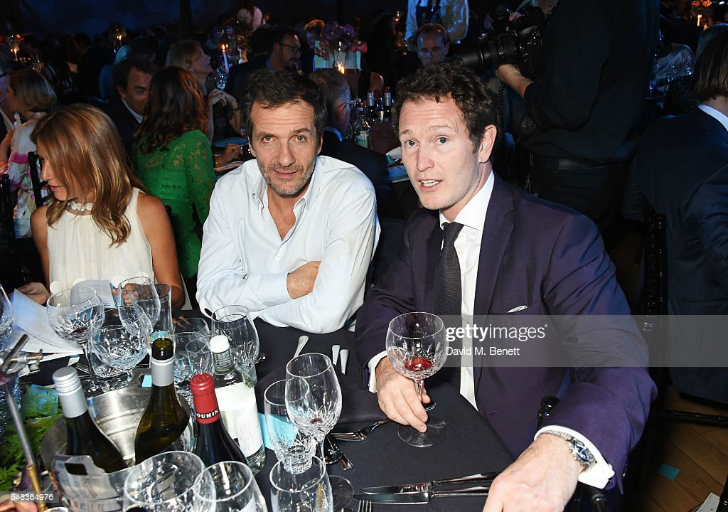 <a gi-track='captionPersonalityLinkClicked' href=/galleries/search?phrase=David+Heyman&family=editorial&specificpeople=810485 ng-click='$event.stopPropagation()'>David Heyman</a> (C) and <a gi-track='captionPersonalityLinkClicked' href=/galleries/search?phrase=Nick+Moran&family=editorial&specificpeople=221364 ng-click='$event.stopPropagation()'>Nick Moran</a> attend the Summer Gala for The Old Vic at The Brewery on June 27, 2016 in London, England.