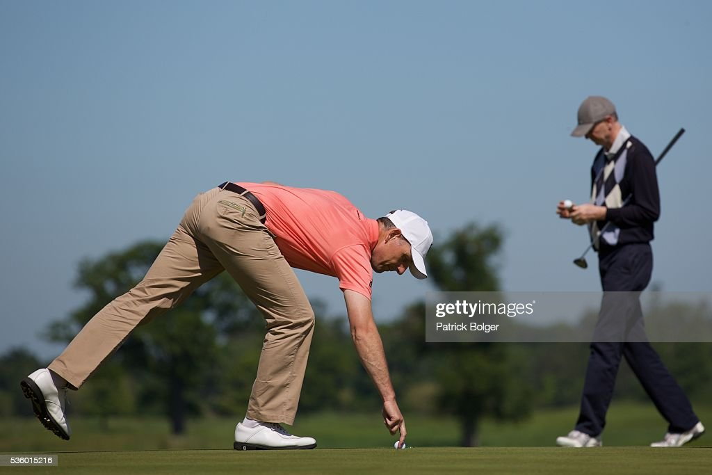 David Higgins (Waterville Golf Links) at Carton House Golf Club on May 31, 2016 in Maynooth, Ireland.
