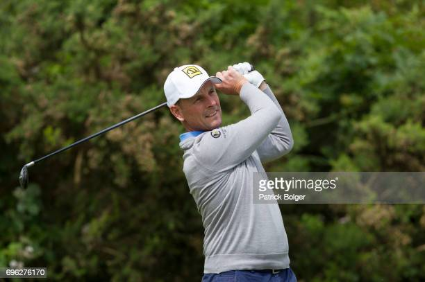 David Higgins from Waterville Golf Links during the Titleist and Footjoy PGA Professional Championship at Luttrellstown Castle on June 15 2017 in...