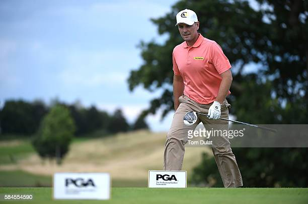 David Higgins of Waterville Golf Links during day four of the PGA Professional Championship at The Oxfordshire Golf Club on July 29 2016 in Great...