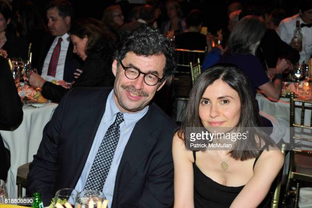 David Hirshey and Dalia Sofer attend PARIS REVIEW BOARD OF DIRECTORS REVEL 2010 at Cipriani on April 13 2010 in New York City