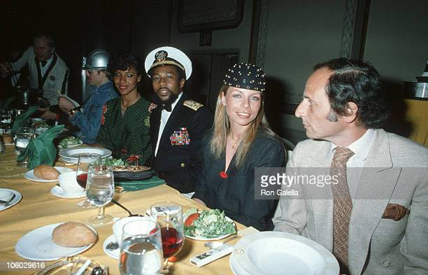 David Hodo and Victor Willis of the Village People and guests