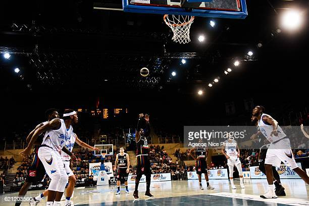 David Holston of Dijon during the Pro A match between Antibes sharks and JDA Dijon on November 4 2016 in Antibes France