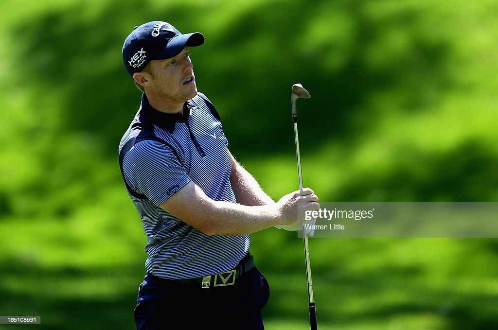 David Horsey of England in action during the third round of the Trophee du Hassan II at Golf du Palais Royal on March 30, 2013 in Agadir, Morocco.