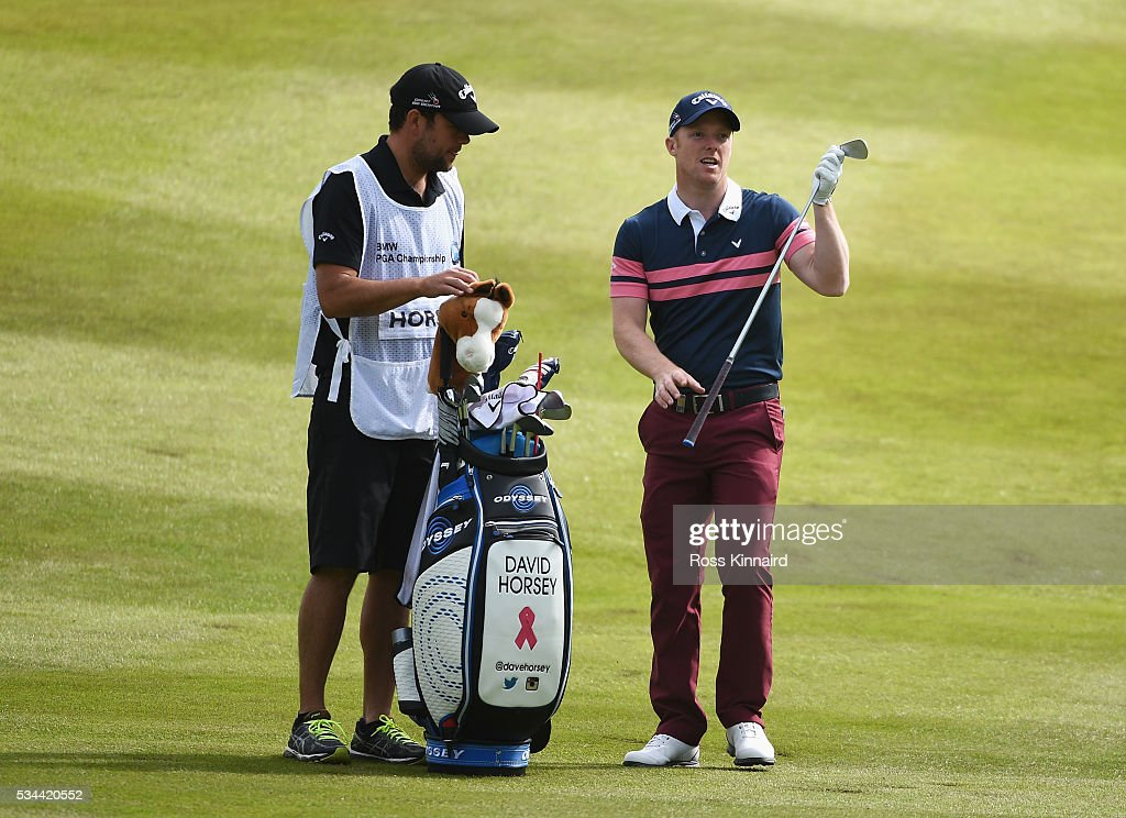<a gi-track='captionPersonalityLinkClicked' href=/galleries/search?phrase=David+Horsey&family=editorial&specificpeople=776403 ng-click='$event.stopPropagation()'>David Horsey</a> of England looks down the 7th hole during day one of the BMW PGA Championship at Wentworth on May 26, 2016 in Virginia Water, England.