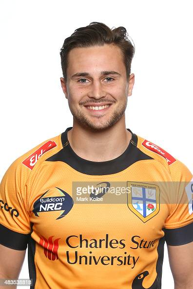 David Horwitz poses during the NSW Country Eagles Headshots Session at the NSW Rugby Union Offices on August 10 2015 in Sydney Australia