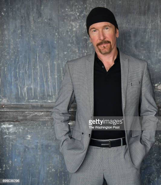 David Howell Evans better known as The Edge of the rock band U2 is photographed on June 19 2017 in Washington DC
