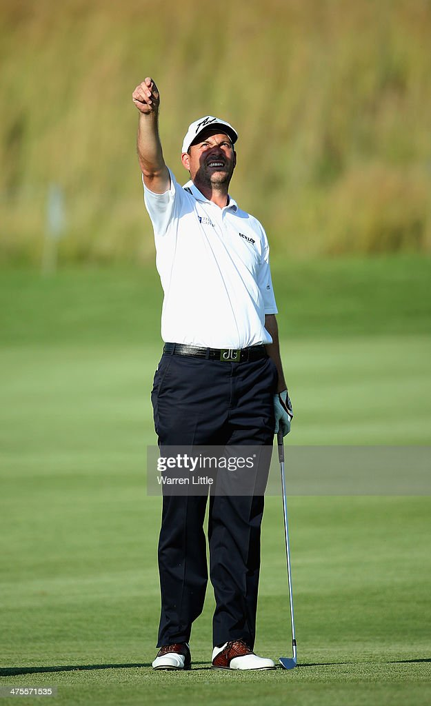<a gi-track='captionPersonalityLinkClicked' href=/galleries/search?phrase=David+Howell&family=editorial&specificpeople=201681 ng-click='$event.stopPropagation()'>David Howell</a> of England checks the wind direction during the second round of the Tshwane Open at Copperleaf Golf & Country Estate on February 28, 2014 in Centurion, South Africa.