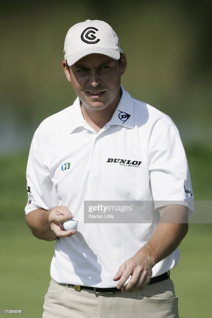 David Howell of England during the first round of the 2006 Open de France presented by Alstom at Golf National on June 29 2006 in Paris France