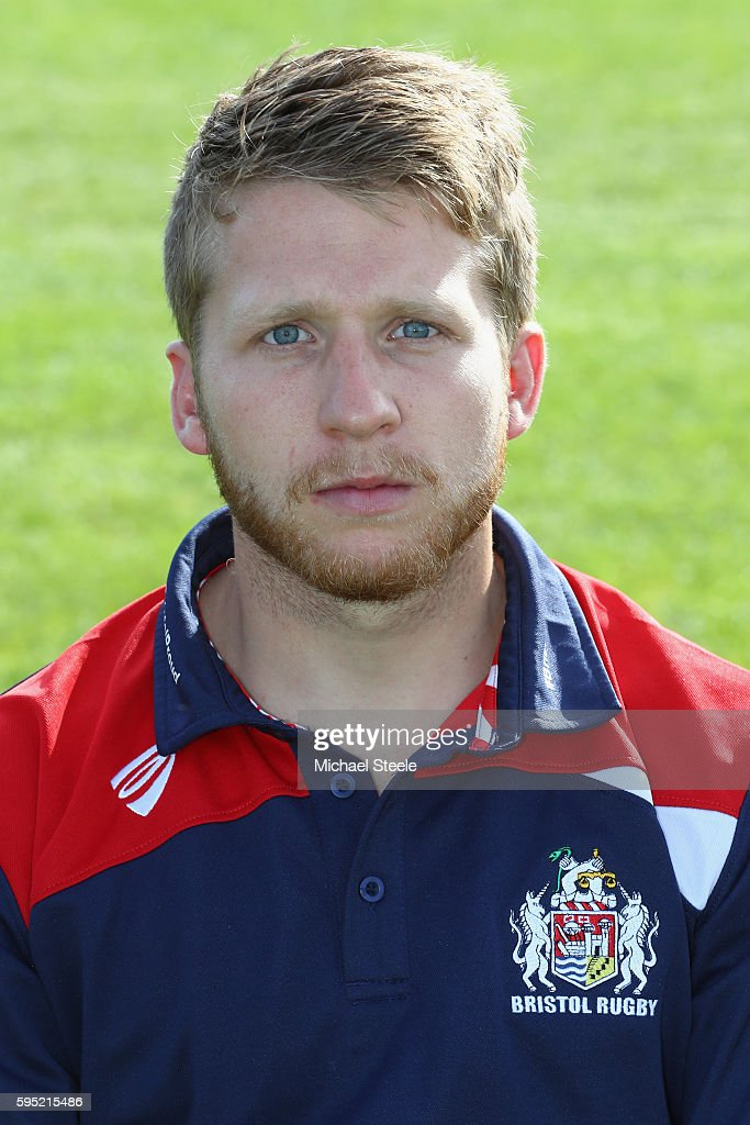 David Howes Academy Physio poses for a portrait during the Bristol Rugby squad photo call for the 20162017 Aviva Premiership Rugby season on August...