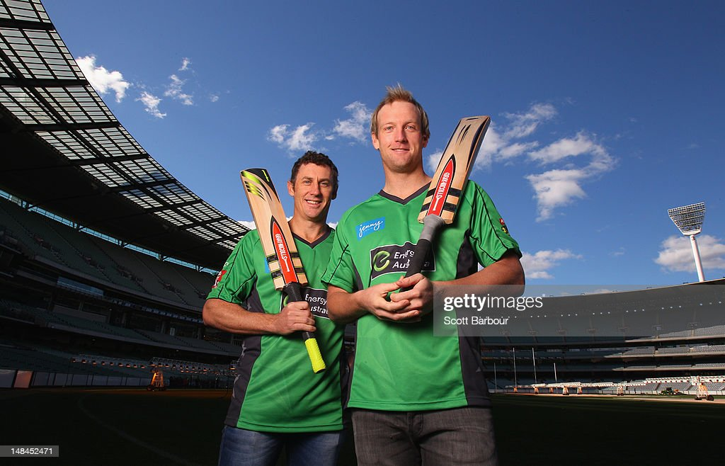 Melbourne Stars Cricket Team Media Call