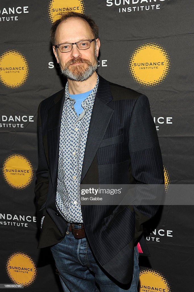 <a gi-track='captionPersonalityLinkClicked' href=/galleries/search?phrase=David+Hyde+Pierce&family=editorial&specificpeople=210743 ng-click='$event.stopPropagation()'>David Hyde Pierce</a> attends the 2013 Sundance Institute Theatre Program Benefit at Stephen Weiss Studio on April 8, 2013 in New York City.