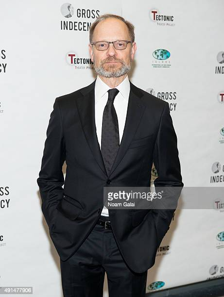 David Hyde Pierce attends the 'Gross Indecency The Three Trials Of Oscar Wilde' after party at John Jay College on October 5 2015 in New York City