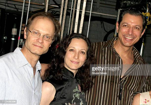 David Hyde Pierce Bebe Neuwirth and Jeff Goldblum