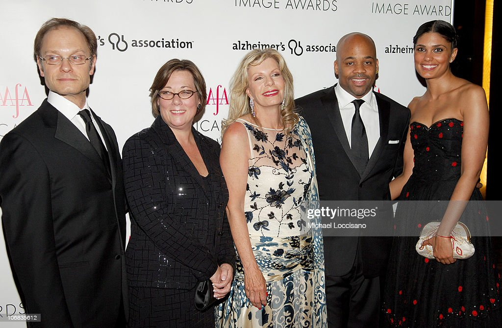 David Hyde Pierce Trish Adams Target Senior Vice President Princess Yasmin Aga Khan Damon Dash and Rachel Roy