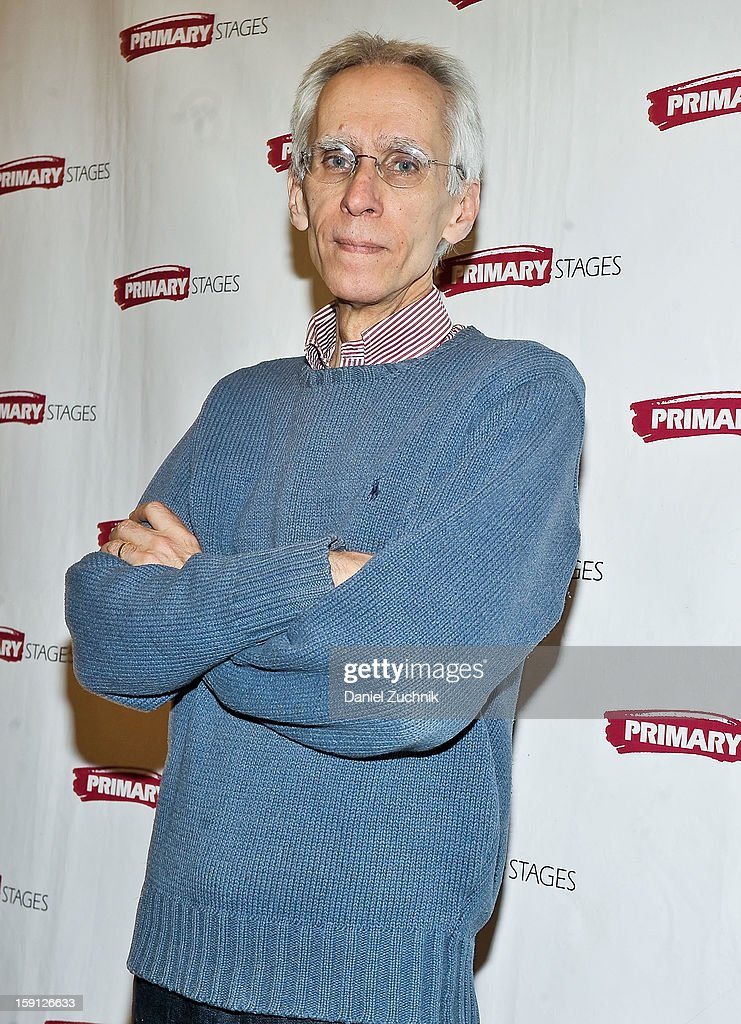 David Ives attends the 'All In The Timing' press preview at Primary Stages Rehearsal Studio on January 8, 2013 in New York City.