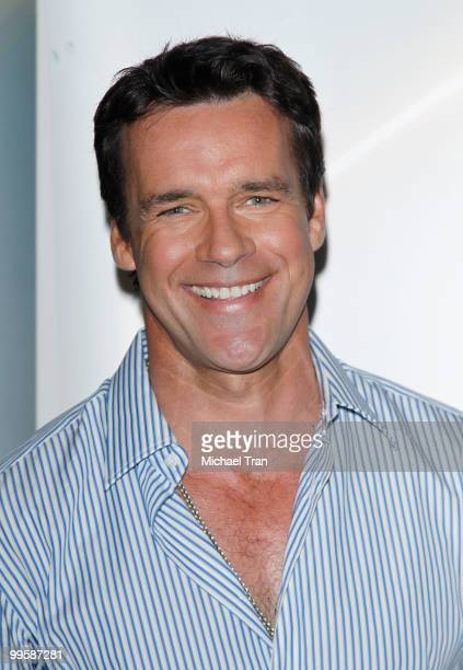 David James Elliott arrives to the Disney/ABC Television Group press junket held at the ABC Television Network Building on May 15 2010 in Burbank...